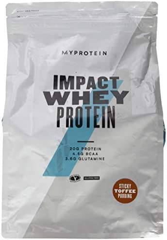 Myprotein Impact Whey Protein Sticky Toffee Pudding, 1er Pack (1 x 2.5 kg)