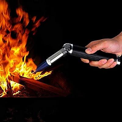 Asixx Encendedor de Barbacoa, Quemador de Gas butano a Prueba de ...