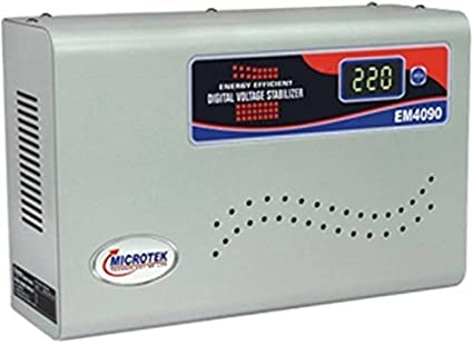 Microtek EM4090 90-300V Digital Voltage Stabilizer