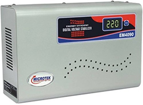 Microtek EM4090 Automatic Voltage Stabilizer for AC up to 1.5 ton