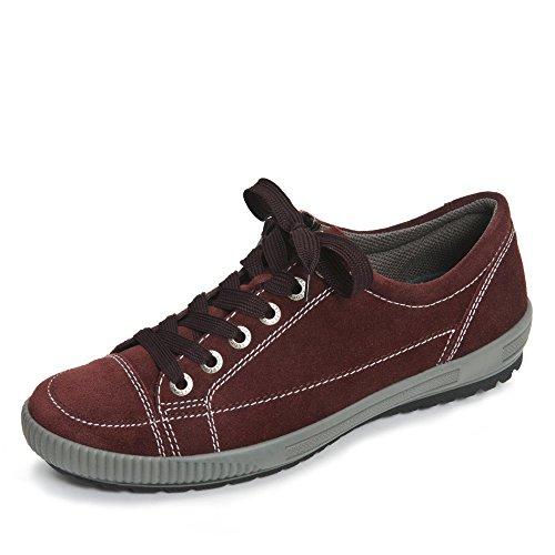 Legero Tanaro 3-00820, Chaussures de ville à lacets femme Rouge - Bordeaux