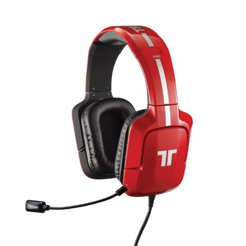 TRITTON Pro+ 5.1 Surround Gaming Headset for PS4, PS3, and X360 – Red For Sale