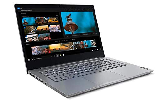 Lenovo ThinkBook 14 Intel Core i3 10th Gen 14-inch Full HD Thin and Light Laptop (4GB RAM/ 1TB HDD/ Windows 10 Home 64/ Grey/ 1.5 kg), 20SLA047IH