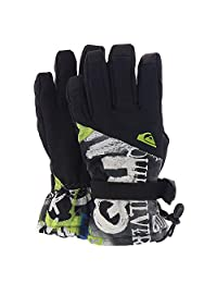 Quiksilver boys Big Boys Mission Youth Glove Tech Snow Golve