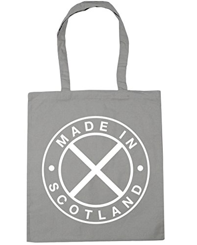 Scotland In 42cm Tote Light Shopping Bag Beach Made HippoWarehouse Gym litres x38cm Grey 10 EqUwTaxF