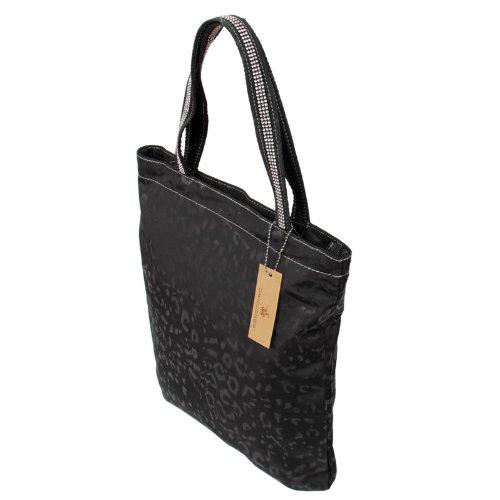 398c64d8b9ccb Glanz Schultertasche in schwarz Leo Strass Shopper Bag Handtasche Tasche  von David Jones