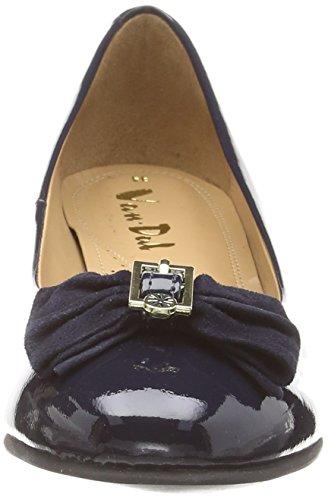 Van Dal Marion - punta cerrada de cuero mujer azul - azul (Navy)