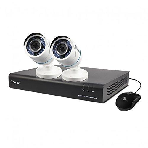 160 4 Channel Dvr - Swann DVR4-4350 4 Channel Analog 720p Digital Video Recorder, White/Black (SWDVK-443502-US)