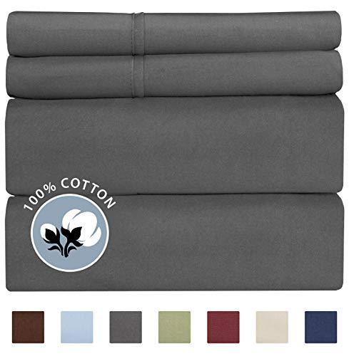 100% Cotton King Sheets