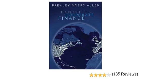 Amazon principles of corporate finance 9th edition amazon principles of corporate finance 9th edition 9780073405100 richard a brealey stewart c myers franklin allen books fandeluxe Gallery