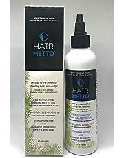 HAIRMETTO® Topical Hair Serum for Hair Loss and Hair Regrowth, Saw Palmetto Stinging Nettle Hair Growth Serum, Hair Regrowth Treatment for Women and Men, Alopecia Hair Loss Treatment, Bald Spot Treatment