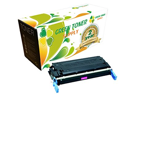 Green Toner SupplyTM Remanufactured Toner Cartridge Replacement for HP Q5953A (Magenta)