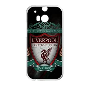 HTC One M8 Cell Phone Case White Liverpool Logo qwih
