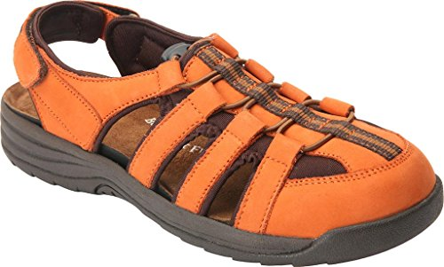 Drew Element Womens Sandal Burnt Orange 2BmFmAclw