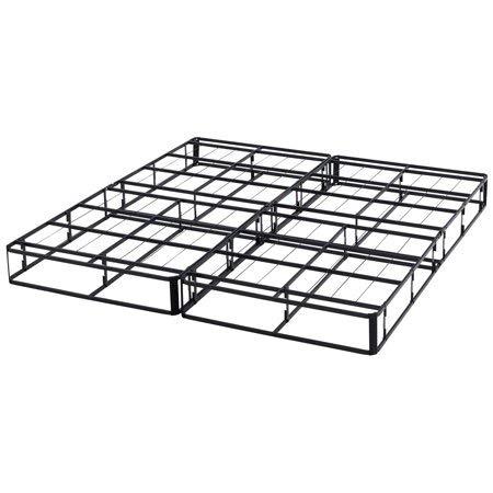 Mainstay Half-Fold Metal Box Spring, (Full)