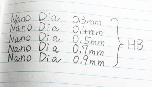 totale 45 Piombi // Col Nostro Negozio Descrizione di Prodotto Originale Forza /& profondo /& lisci Uni-ball il diamante eccellente ed addizionale infuse piombi di matita 0.3 mm-HB-nano Dia 15 Conduce X 3 Pacco