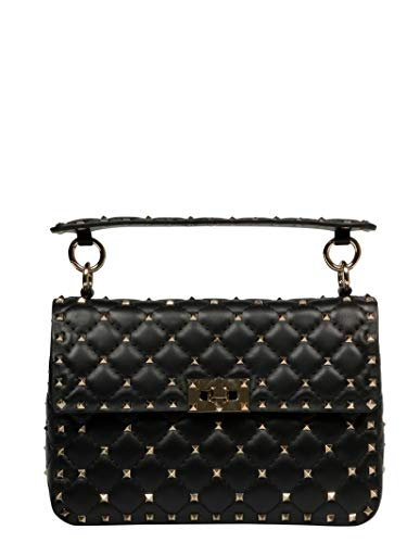 Valentino Garavani Women's Rw2b0122nap0no Black Leather, used for sale  Delivered anywhere in USA
