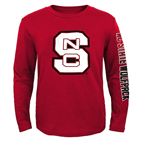 Outerstuff NC State Wolfpack NCAA Youth Red Hourglass Long Sleeve T-Shirt ()