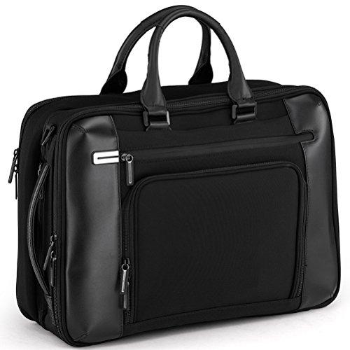 Black Halliburton Briefcase Zero (Zero Halliburton PRF 3.0 - Expansion Briefcase, Black, One Size)