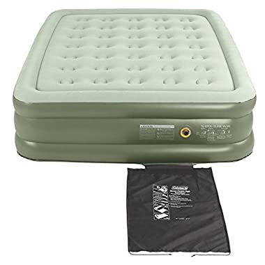 Coleman Company SupportRest Double High Airbed - Queen,Green
