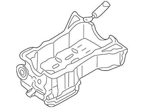 Nissan 11110-7Y000, Engine Oil Pan