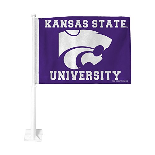 - Rico Industries NCAA Kansas State Wildcats Car Flag