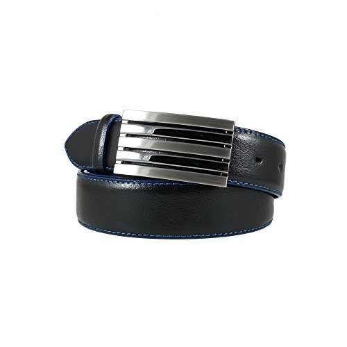Smooth Leather Dress Belt (Hoffebelts Men's Leather Belt Royal)