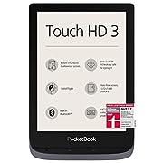 PocketBook e-Book Reader 'Touch HD 3' (16 GB Memory, 15.24 cm (6 Inch) E-Ink Carta Display, SMARTlight, Wi-Fi, Bluetooth…