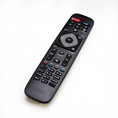 Replacement Philips Smart TV Remote Control: 32PFL4609 32PFL4909 40PFL4609 40PFL4909 43PFL4609 43PFL4909 49PFL4609 49PFL4909 50PFL4909 55PFL4609 55PFL4909 58PFL4609 58PFL4909 65PFL4909