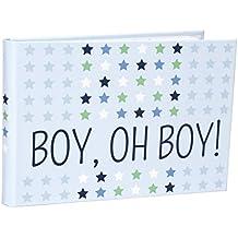 Malden International Designs Boy Oh Boy Baby Brag Book, 1-Up, 40-4x6, Blue