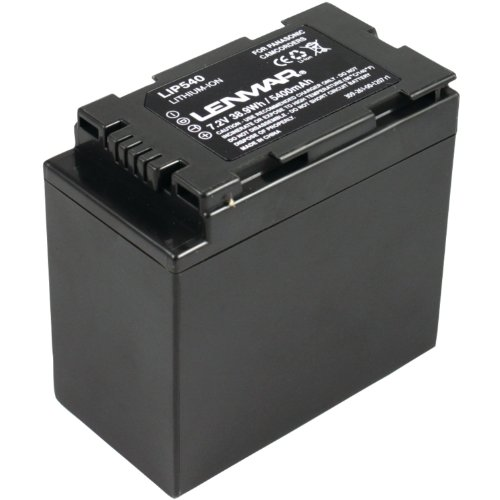 (Lenmar LIP540 Lithium-ion Camcorder Battery Equivelent to the Panasonic CGR-D54 and CGA-D54s Batteries)
