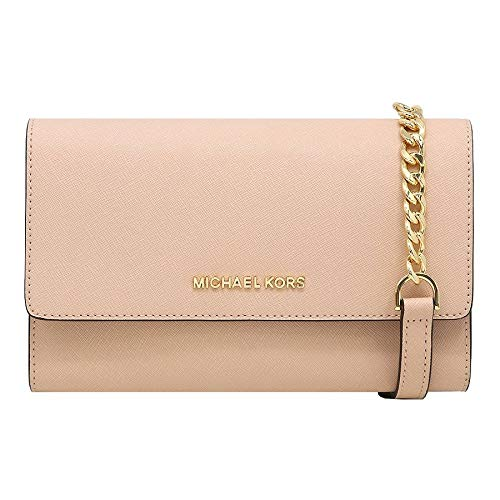 Michael Kors 3-In-1 Crossbody Bag With Removable Pouch (Ballet)