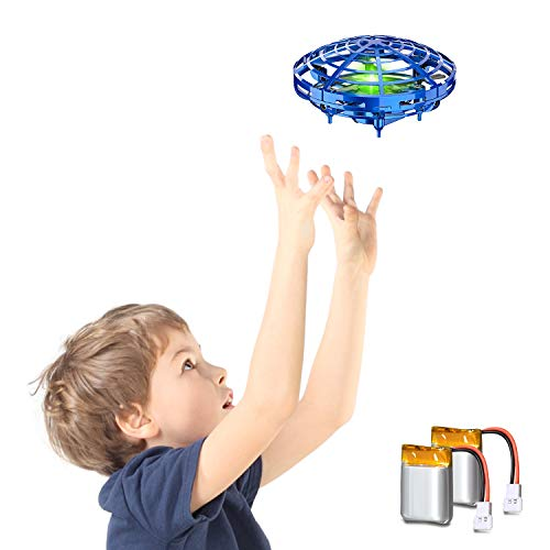 STREET WALK Hand Operated Drones for Kids or Adults - Easy Indoor Small Orb Flying Ball Drone Toys for Boys or Girls,Scoot Hands Free Mini Drone Helicopter