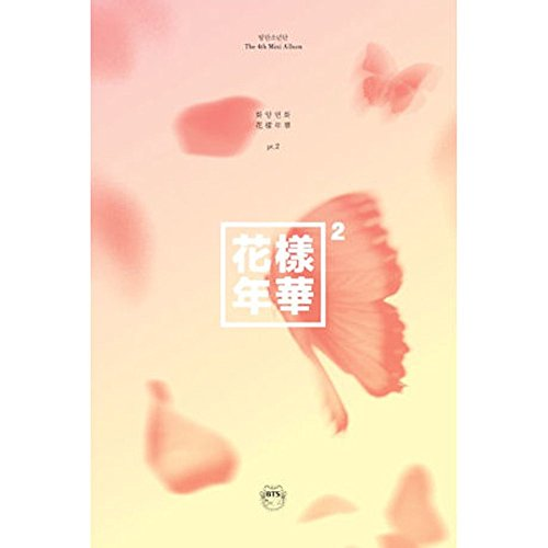 BTS - [ In The Mood For Love ] PT.2 4th Mini Album ( PEACH ver. ) CD + Photobook + Photocard + SoltreeBundle Oil Blotting Paper 50pcs