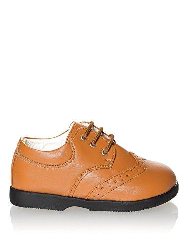 Paisley de Londres, motif Chaussures Bébé Garçon-Brun Beige, chaussures, chaussures pour déguisement pour bébé de 1