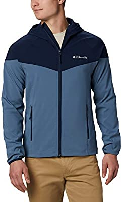 Columbia Heather Canyon, Chaqueta Softshell, Hombre, Azul ...