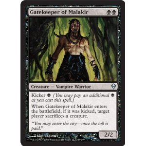 Magic: the Gathering - Gatekeeper of Malakir (89) - Zendikar