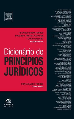 Dicionário de Princípios Jurídicos