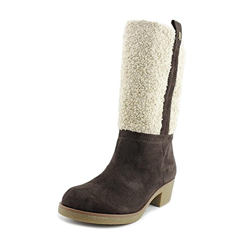 Tommy Hilfiger Kvinners Ynez Snø Boot Brown Multi