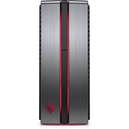 OMEN by HP Gaming Desktop Computer, Intel Core i3-7100, AMD Radeon RX 460, 8GB RAM, 1TB hard drive, Windows 10 (870-210, Aluminum)