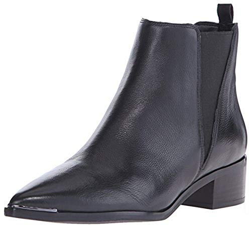 Marc Fisher LTD Women's Mlyale Ankle Bootie, Black Leather, 7.5 M US from Marc Fisher LTD