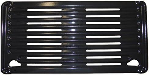 Rejilla de repuesto pequeña cocción de acero esmaltado para barbacoas Campingaz 3 Series, tamaño 22 x 44 cm