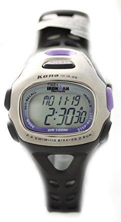 Timex T5H351 reloj de goma mujer acero ironman triathlon acero