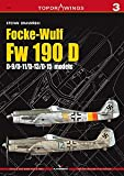 Focke-Wulf FW 190 D : D-9, D-11, D-13, D-15 (Top Drawings, 3)
