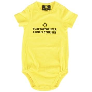 Kappa Camiseta de manga corta de bebé BVB cuerpo Amarillo Amarillo brillante Talla:80