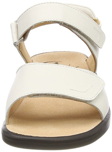 Ganter Sandals Heels Women 0200 White 202857 Weiss 5 6aFwq6rT