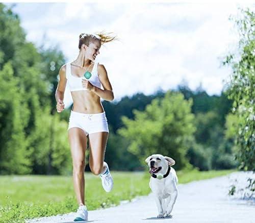 犬トラッカー活動や体育教師、小型のポータブル監視装置。防水緑色の光のための子供、犬、高齢者,ピンク