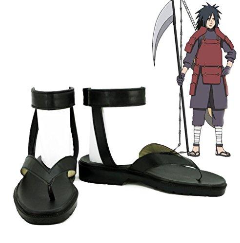 Naruto Anime Uchiha Madara Cosplay Sko Støvler Skreddersydde