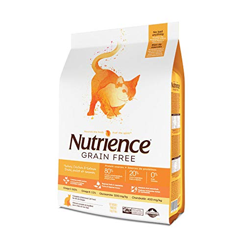 5kg (11lb) Nutrience Grain Free Turkey Cat Food (11lb)