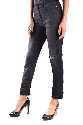 Donna Meltin'pot Jeans Cotone Mcbi340037o Nero 05HqXqYw